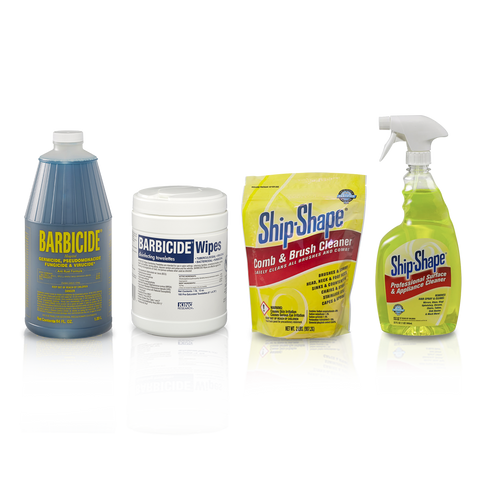 BARBICIDE® Sanitation Starter Kit of 4 BARBICIDE® Products