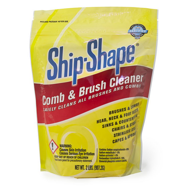 BARBICIDE® Ship-Shape Comb & Brush Cleaner, 2 lb