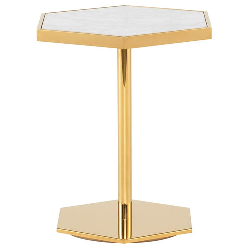 CARDEA SIDE TABLE WHITE