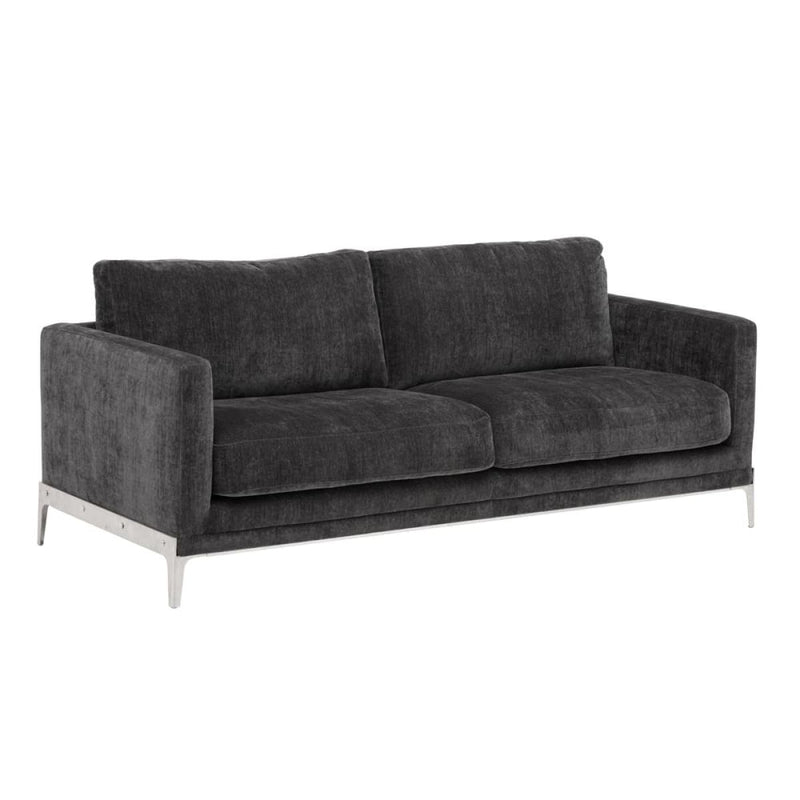 ABDERA SOFA - THUNDER GREY FABRIC