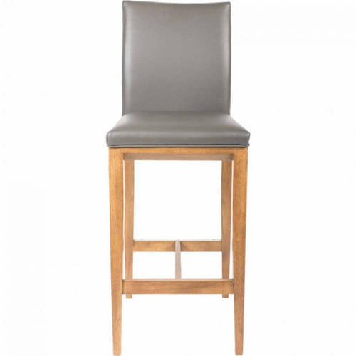 Abie Bar Stool Grey
