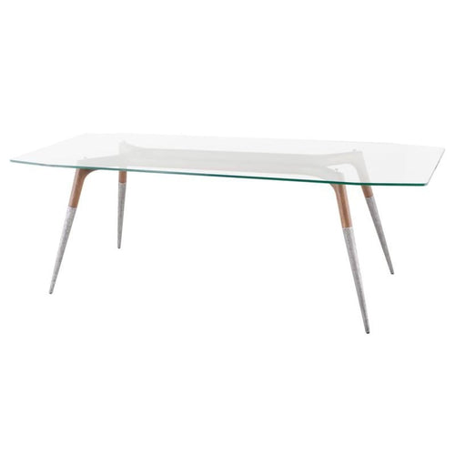 ACCALIA DINING TABLE CLEAR