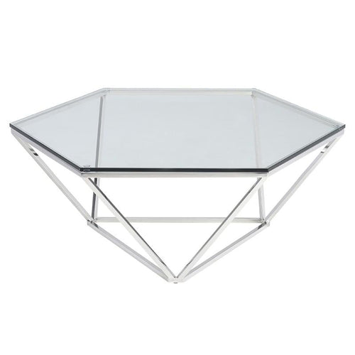 AEGAEUS COFFEE TABLE STAINLESS