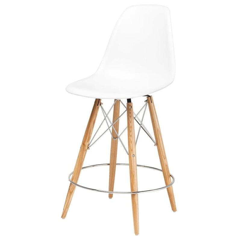AEKERLEY COUNTER STOOL WHITE