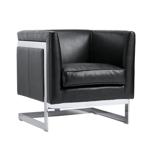 AIKEN ARMCHAIR BLACK