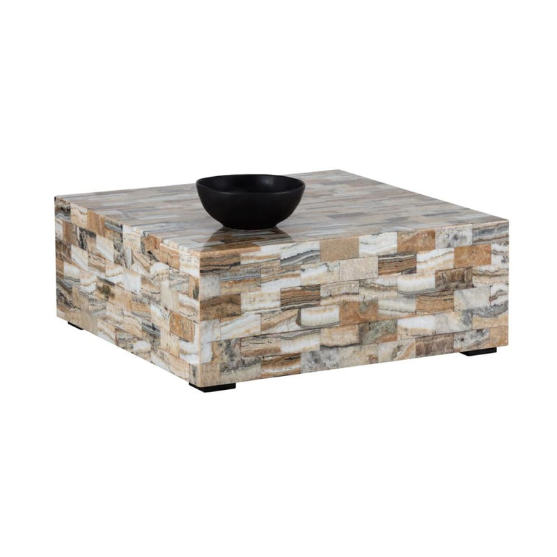 ALEGRA COFFEE TABLE ONYX - Coffee Table