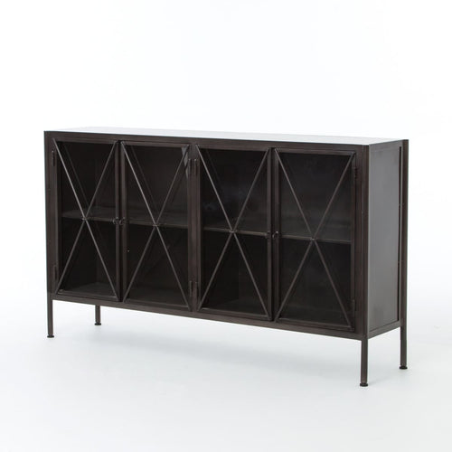 ALLEGRIA SIDEBOARD-WAXED BLACK
