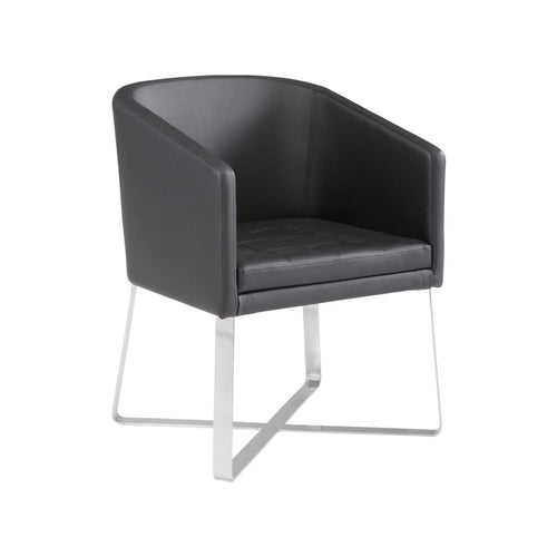 ALLIS ARMCHAIR BLACK