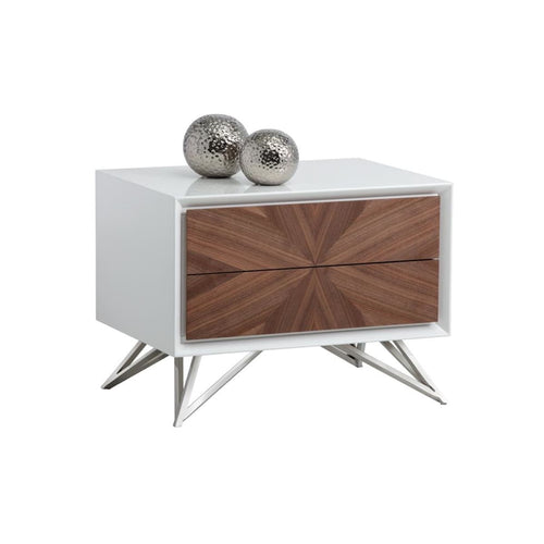 ALLISTER END TABLE WITH DRAWERS