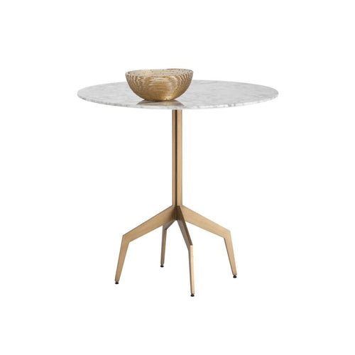 ALRIK BISTRO TABLE - MARBLE LOOK - 31.5""