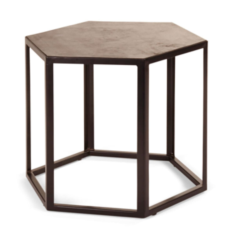 ALVIE RUBBER SIDE TABLE, SMALL