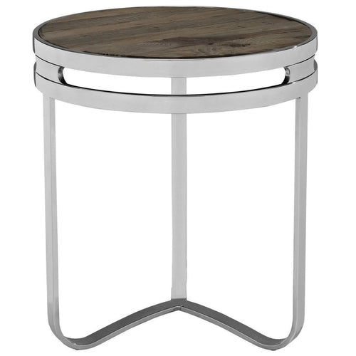 Ambrus wood Side table