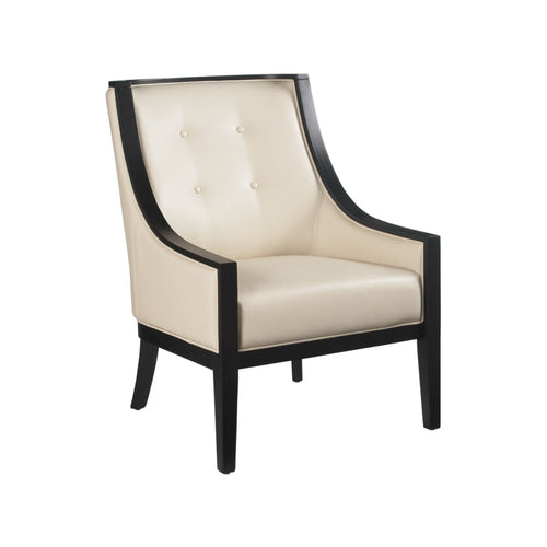 ARGENTA ARMCHAIR CREAM LEATHER