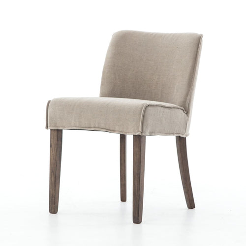 ARIAN DINING CHAIR-HEATHER TWILL STONE