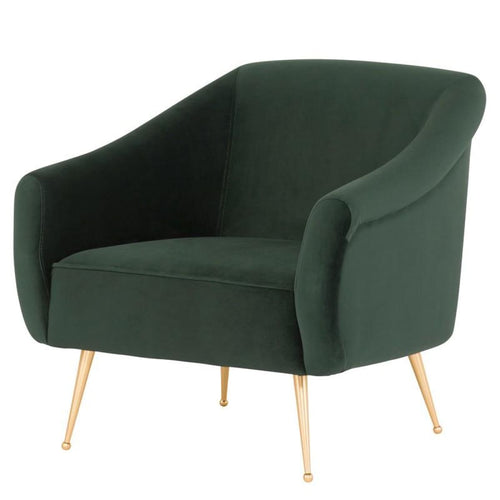 BAREND OCCASIONAL CHAIR EMERALD GREEN