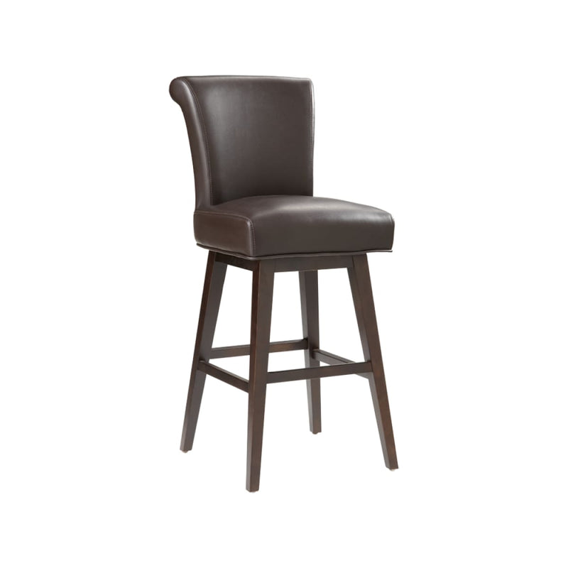 BELLAMY SWIVEL BARSTOOL BROWN SET OF 2