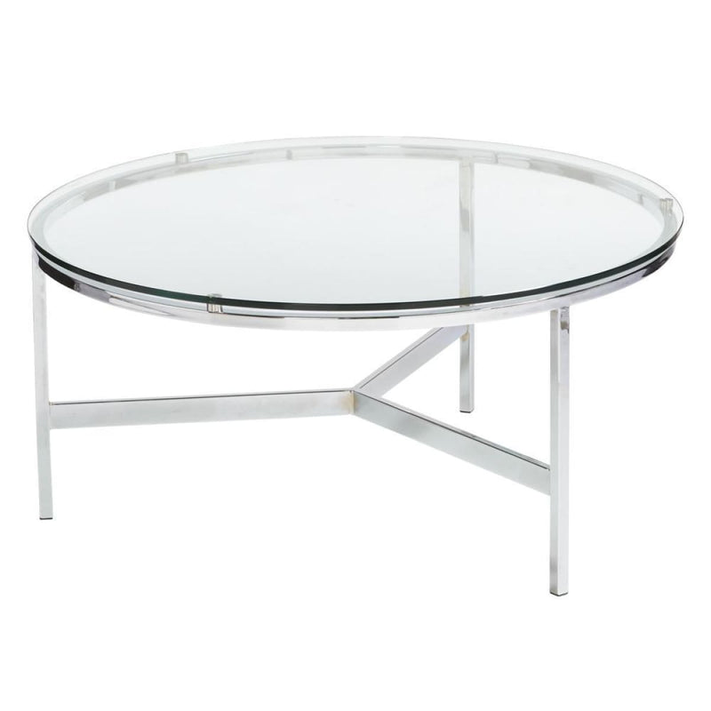 BRICE ROUND COFFEE TABLE