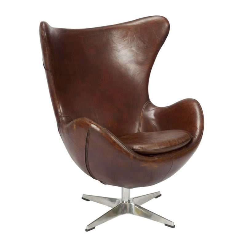 Candelas Club Brown Chair