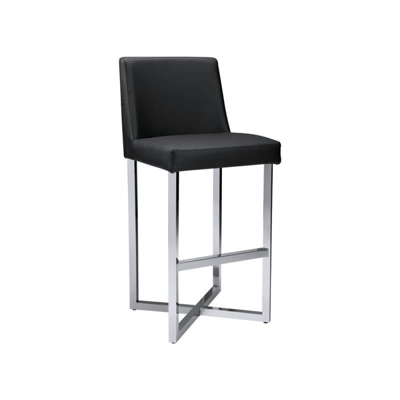 CHARLIZE BARSTOOL BLACK SET OF 2