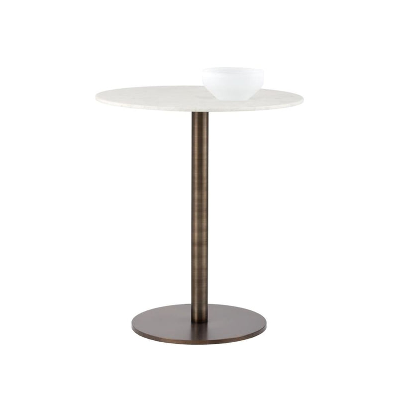 CORBEN BAR TABLE - MARBLE - DINING TABLE