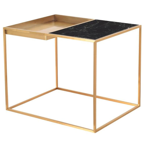 DECIMA SIDE TABLE GREEN 30″ X 24″ X 24″