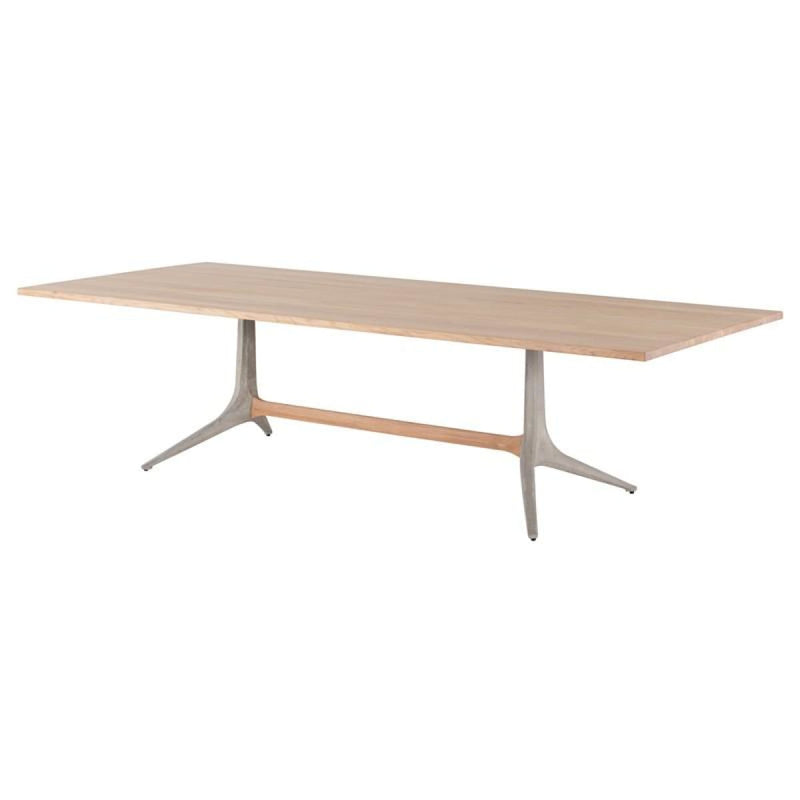 DINAH DINING TABLE OILED OAK 110""