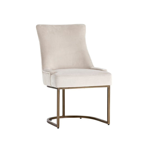 DONATO DINING CHAIR - RUSTIC BRONZE CREAM