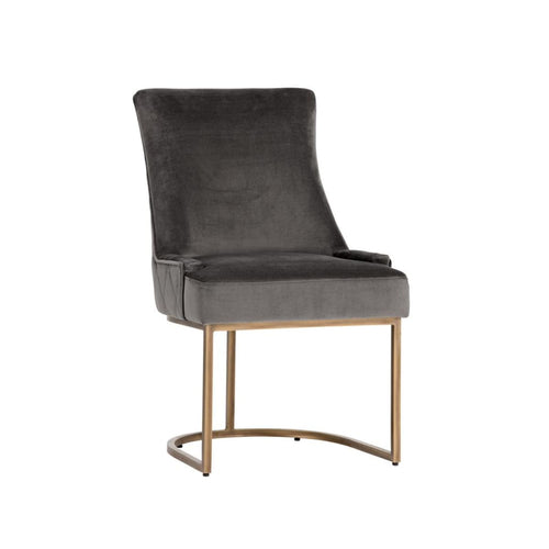 DONATO DINING CHAIR - RUSTIC BRONZE PEBBLE