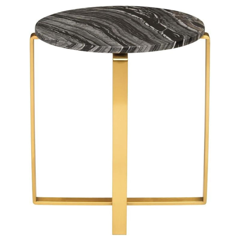 EAVAN SIDE TABLE BLACK - Accent Table