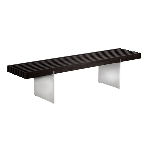 ELINOR BENCH - BLACK ASH