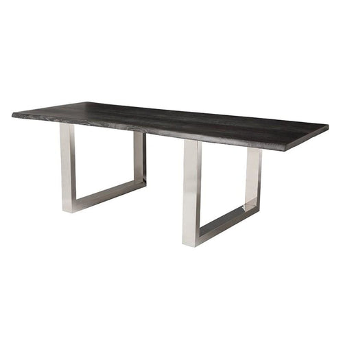 ELYCE DINING TABLE OXIDIZED GREY 78""