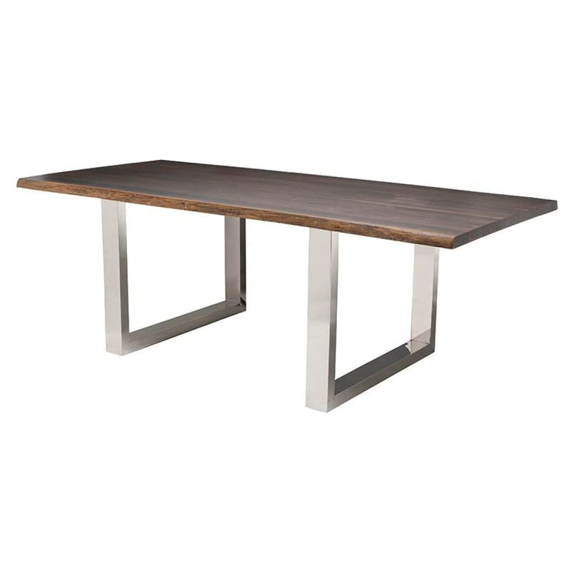 ELYCE DINING TABLE SEARED 96 - DINING TABLE