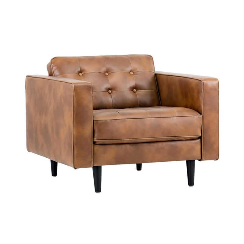 FARIN ARMCHAIR TOBACCO TAN
