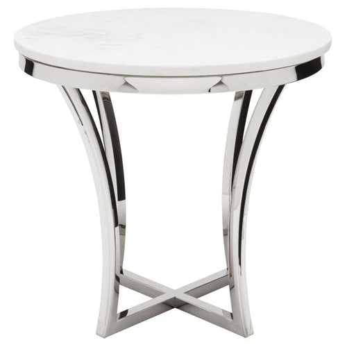 FORTINO SIDE TABLE WHITE