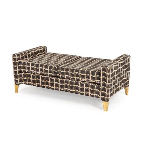 FRANZ BENCH - PATRIOTIC FABRIC - bench