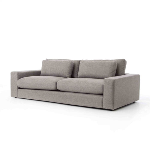 GINEVRA CHESS PEWTER 98 SOFA - sofas