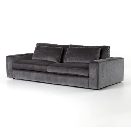 GINEVRA SOFT CHARCOAL GREY SOFA - sofas