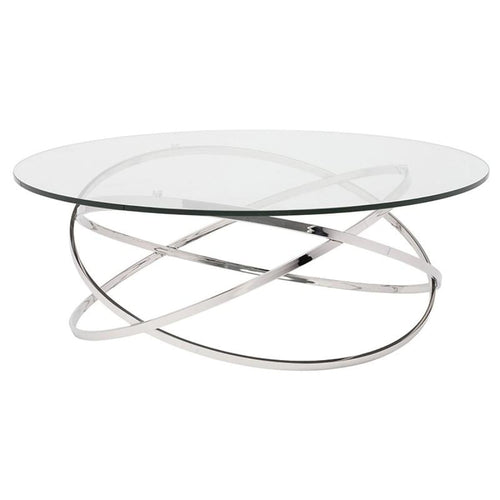 GISELLE COFFEE TABLE CLEAR - COFFEE TABLE