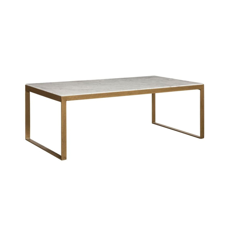 HOLLAND COFFEE TABLE - RECTANGULAR - HIGH - WHITE