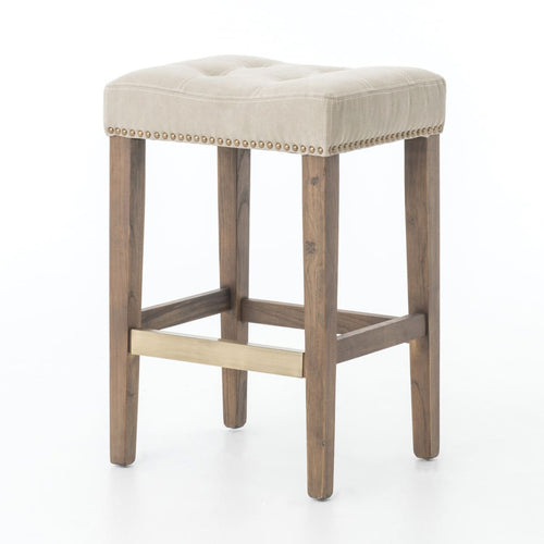 INTEUS COUNTER STOOL DESERT CANVAS - barstool