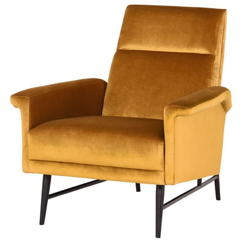 JEMIMA OCCASIONAL CHAIR MUSTARD
