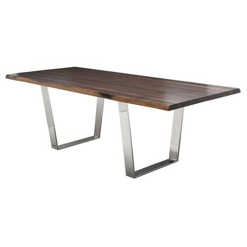 KRISTEL DINING TABLE SEARED 78""