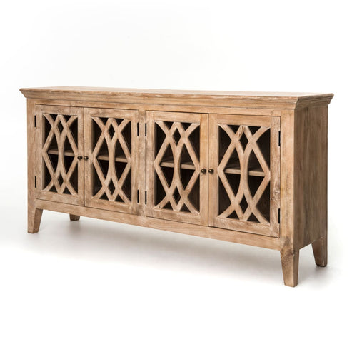 LEAZA SIDEBOARD 4 DOOR: DOGWOOD - side board