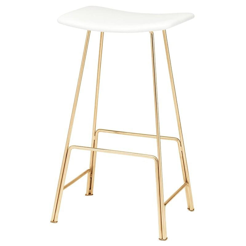 LEMUEL COUNTER STOOL WHITE - COUNTER STOOLS