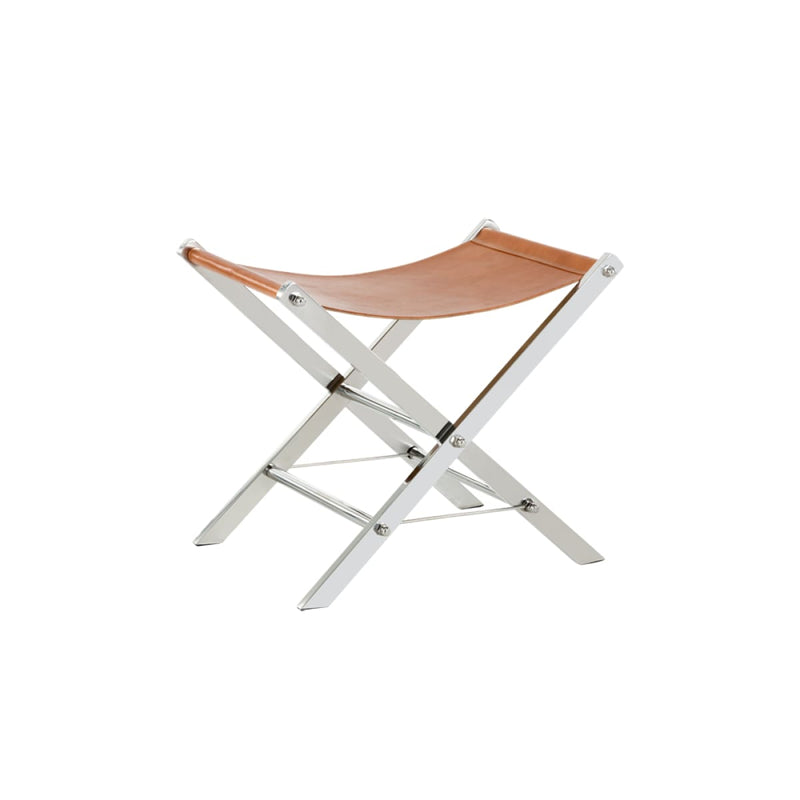 LEMUEL STOOL - STAINLESS STEEL - bench