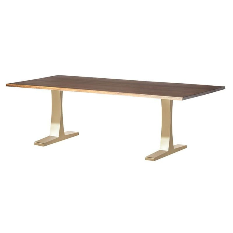 LEROUX DINING TABLE SEARED 78 - DINING TABLE