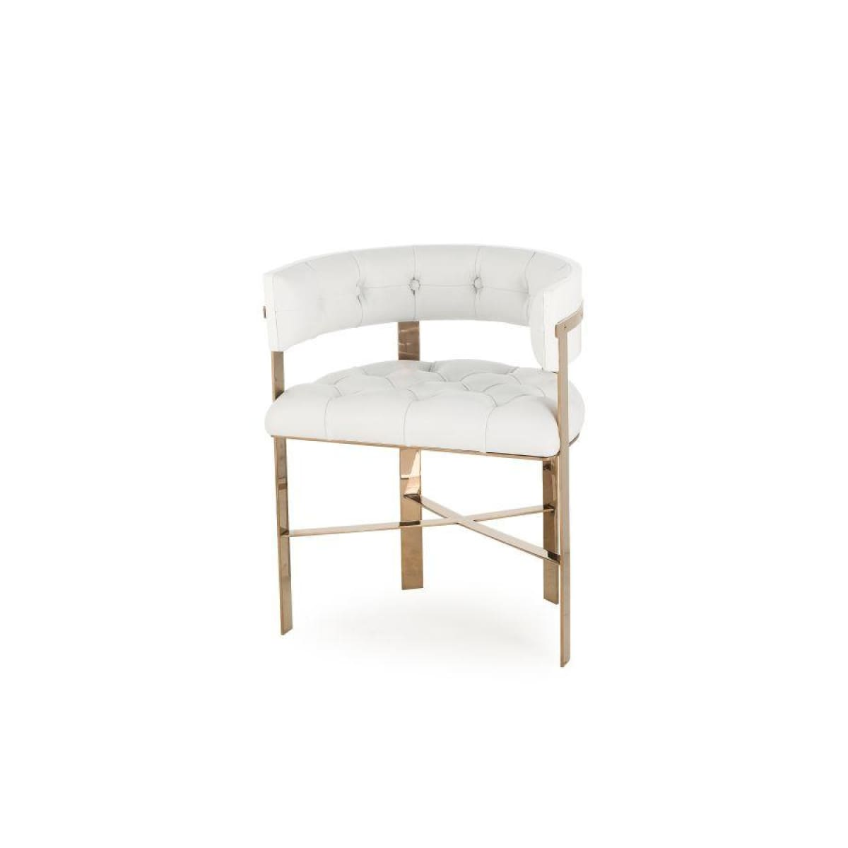 Amazing Leticia Dining Chair White Leather Pdpeps Interior Chair Design Pdpepsorg