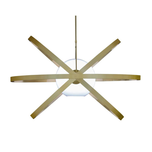 LUCAN CEILING LIGHT - BRASS PLATED
