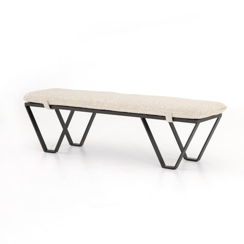 LUTHAIS BENCH PERIN OATMEAL - bench