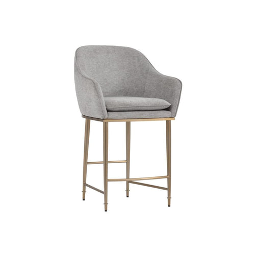 MANVEL BARSTOOL GREY LIGHT GREY